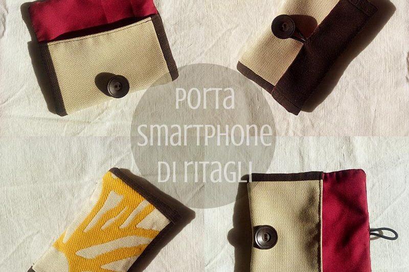 Porta-smartphone di ritagli